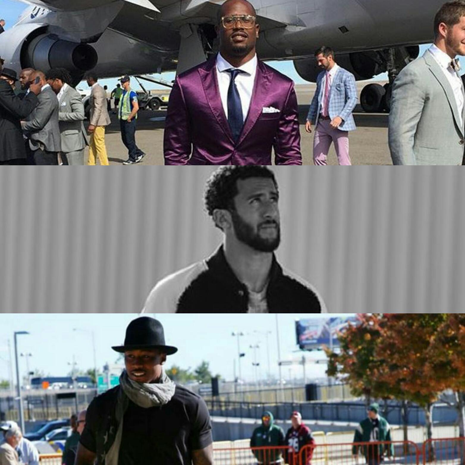 STYLE: Brandon Marshall, Von Miller, Drew Brees & More