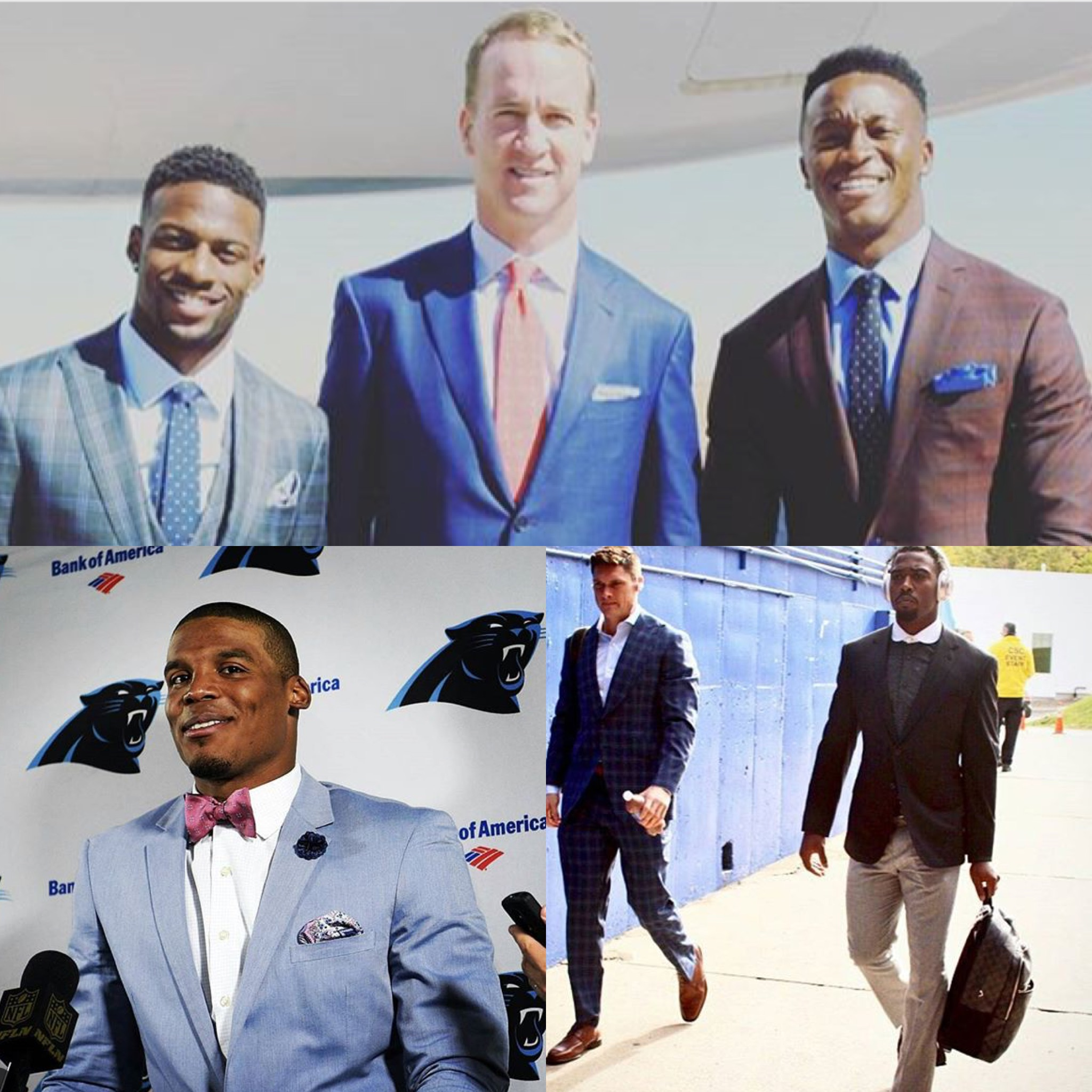NFL STYLE: Cam Newton, Peyton Manning, Tyrod Taylor And More