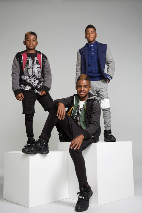 Lebron's Sons Model For Sean John Dream Big Campaign  Fall/Holiday 2015