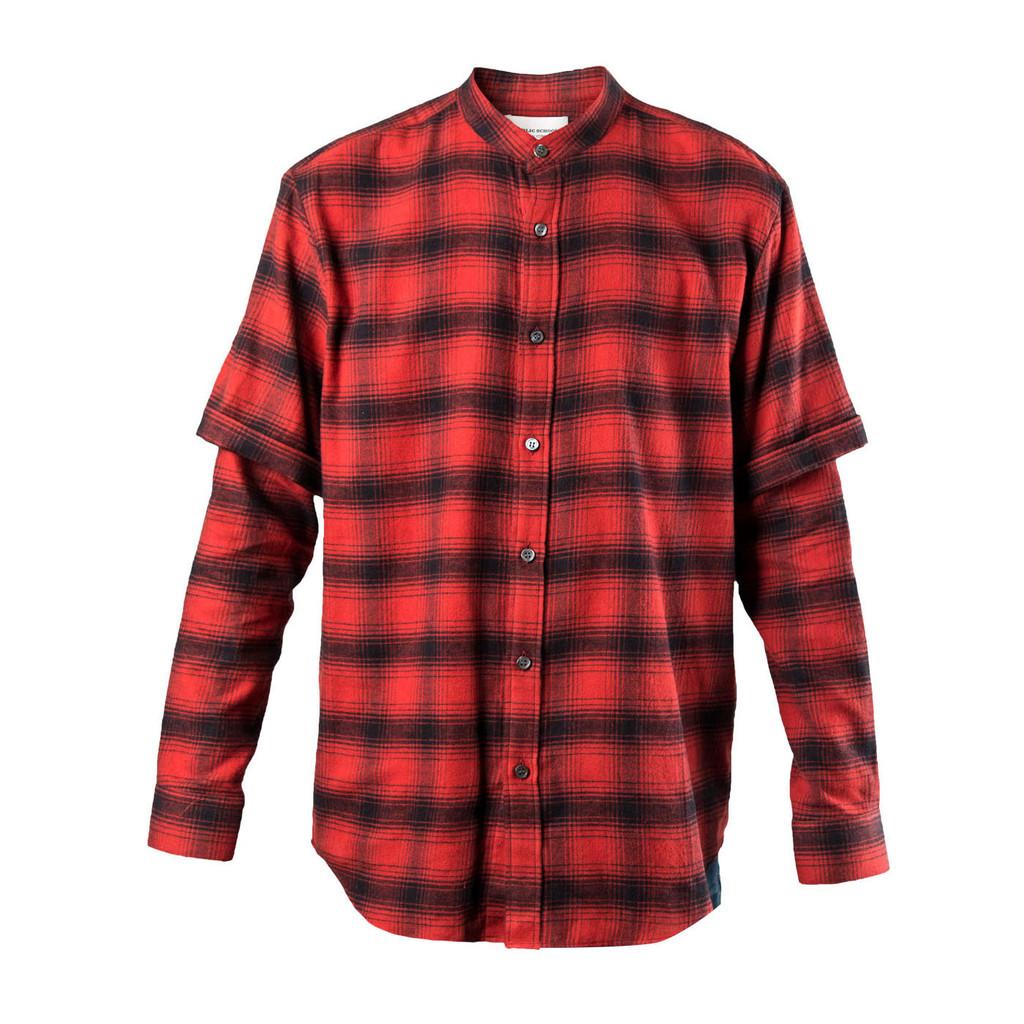Public-School-Double-Sleeve-Mandarin-Shirt