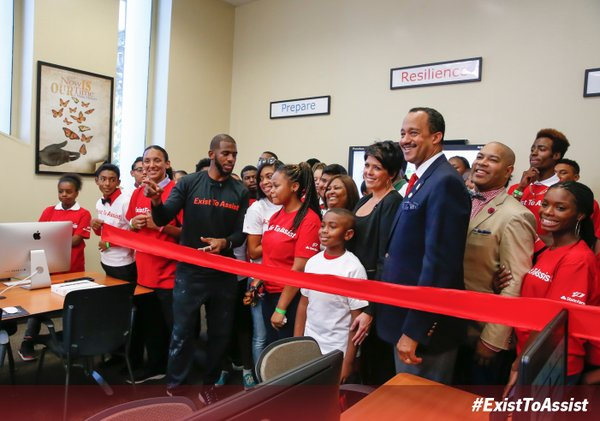 """NBA Star Chris Paul And State Farm Unveil New Community Program, """"Exist To Assist"""""""