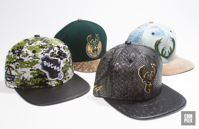 Milwaukee Bucks Players Design New Era Team Caps, Vote Your Favorite