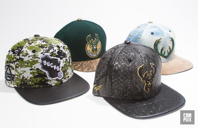 Milwaukee Bucks Players Design New Era Team Caps, Vote Your Favorite