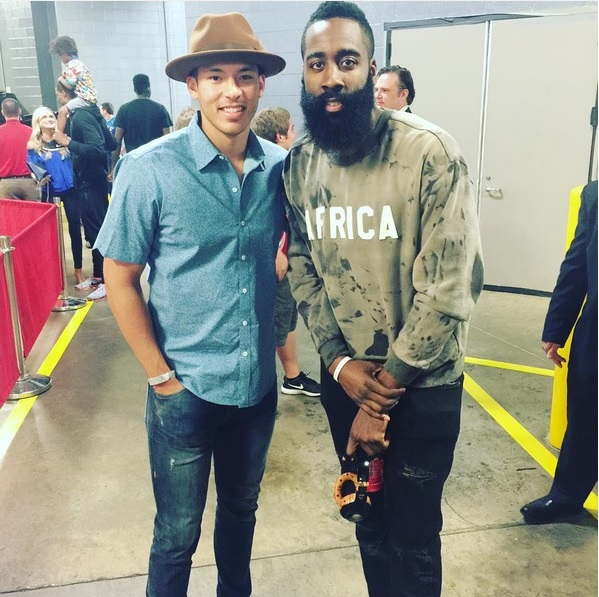 STYLE: James Harden Wears LFANT Africa Day Crewneck Sweater
