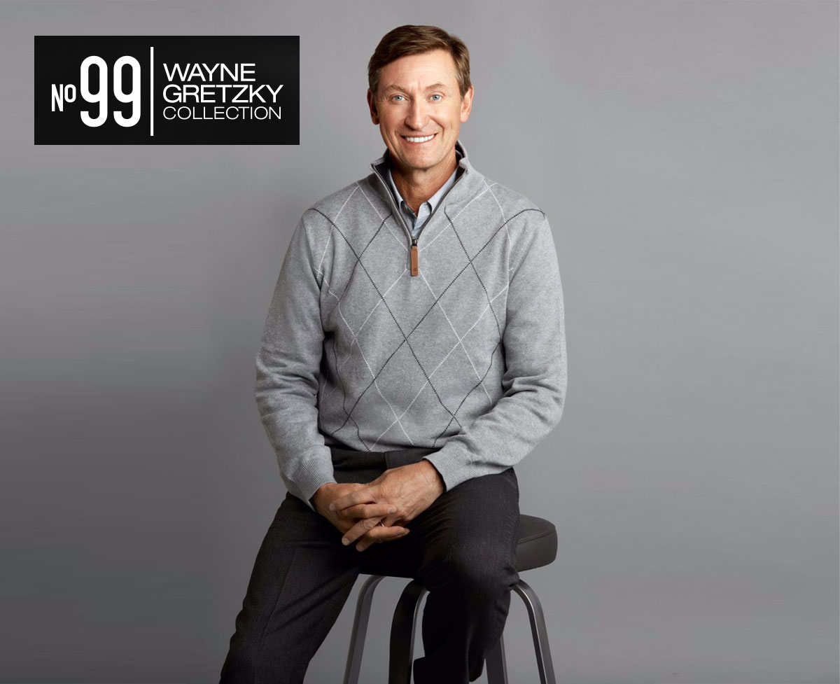 Wayne Gretzky Unveils No.99 Clothing Collection At Toronto Fashion Week