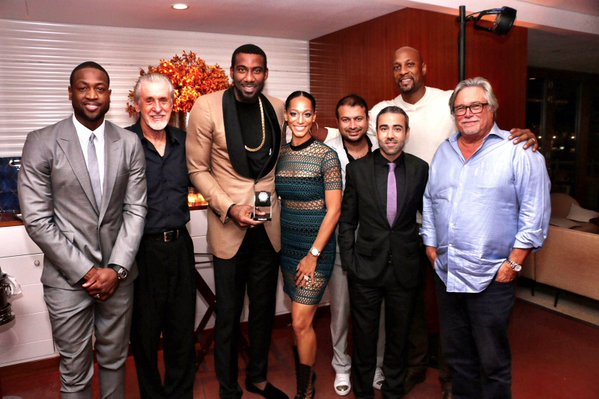 NBA Amar'e Stoudemire Gifted 25K Hublot Watch For 33rd Birthday