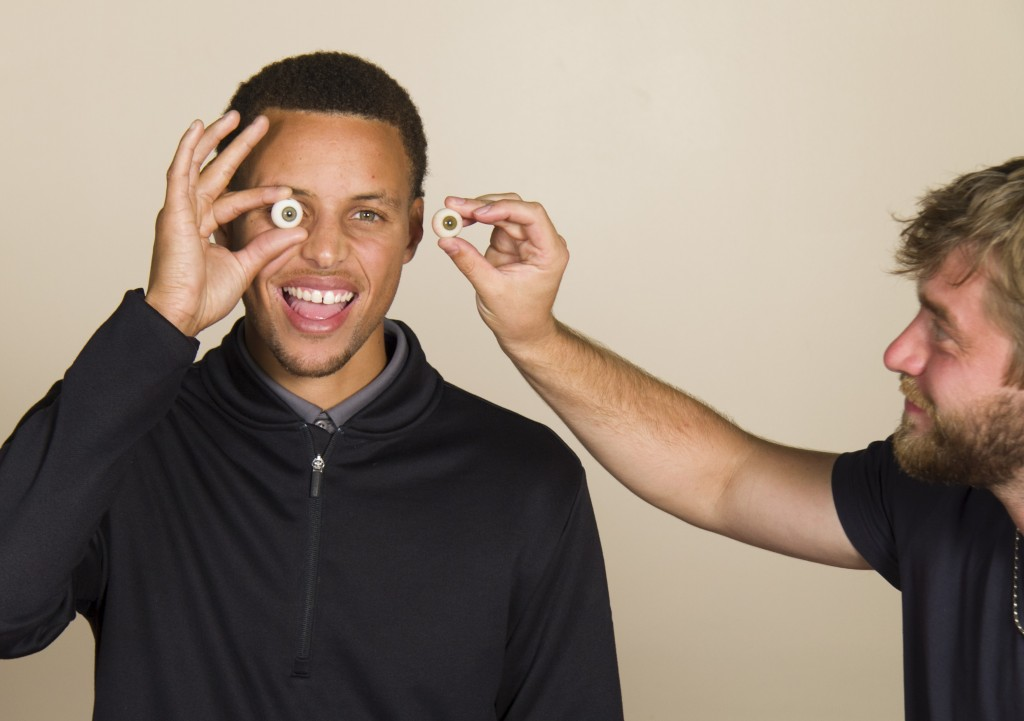 NBA Stephen Curry's Wax Figure From Madame Tussauds San Francisco Debuts In 2016