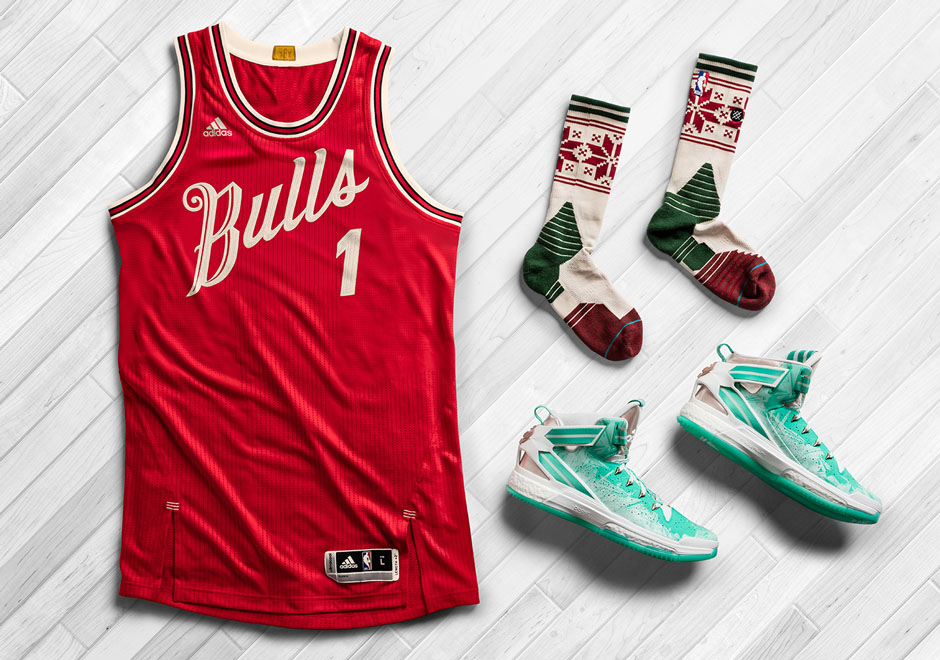 2015 Christmas Day NBA Jerseys And Socks