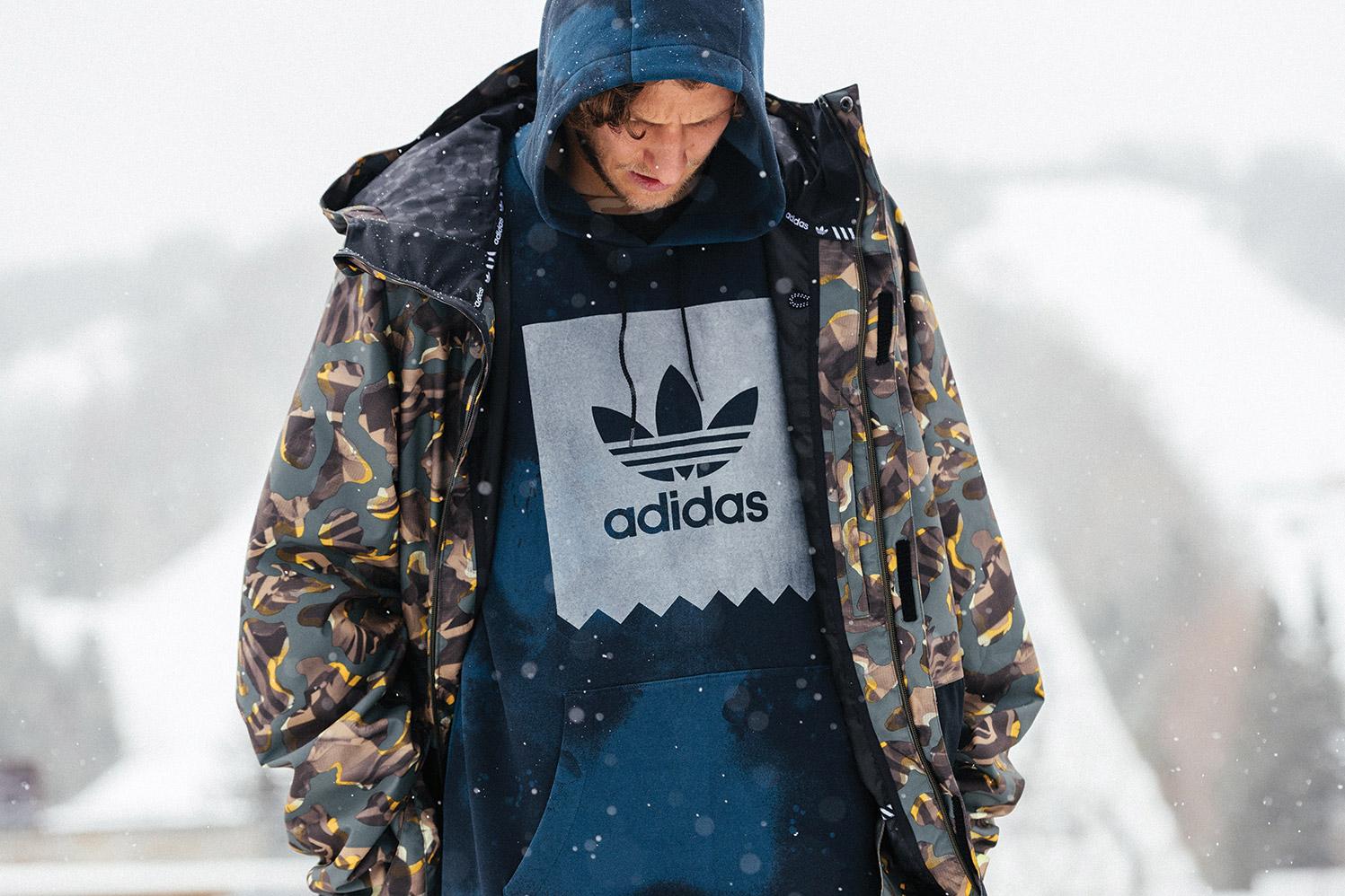 snowboard hoodie adidas