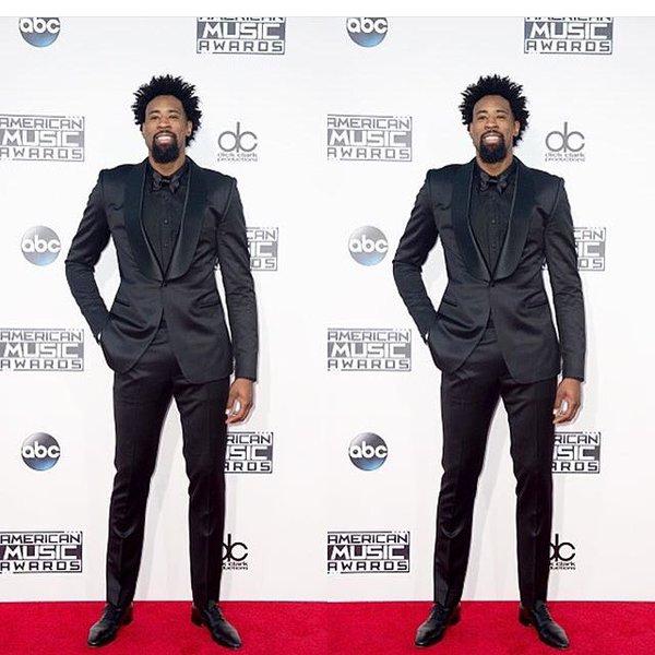 deandre-jordan-american-music-awards-waraire-boswell-suit