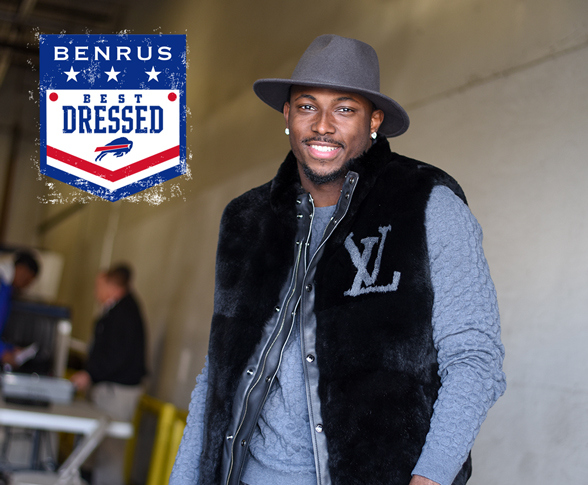 LeSean McCoy Named Best Dressed, Wins BENRUS H-6 Watch
