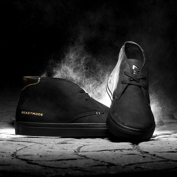 Marshawn Lynch And Greats Brand Debut Limited-Edition Beast Mode 2.0 Royale Chukka Sneaker