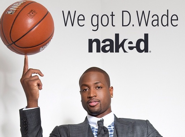 Dwyane Wade Speaks His Naked Truth In New Marketing Campaign