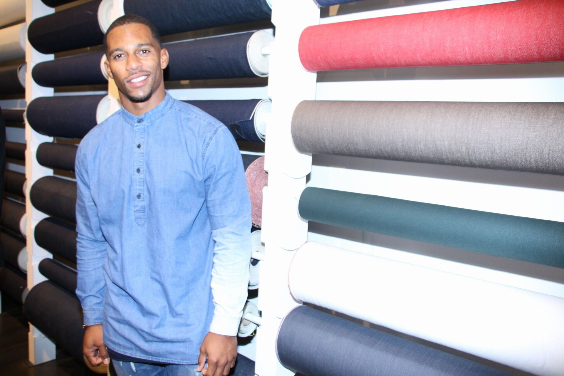 Victor Cruz's 7 Best Fashion Moments Off the Field