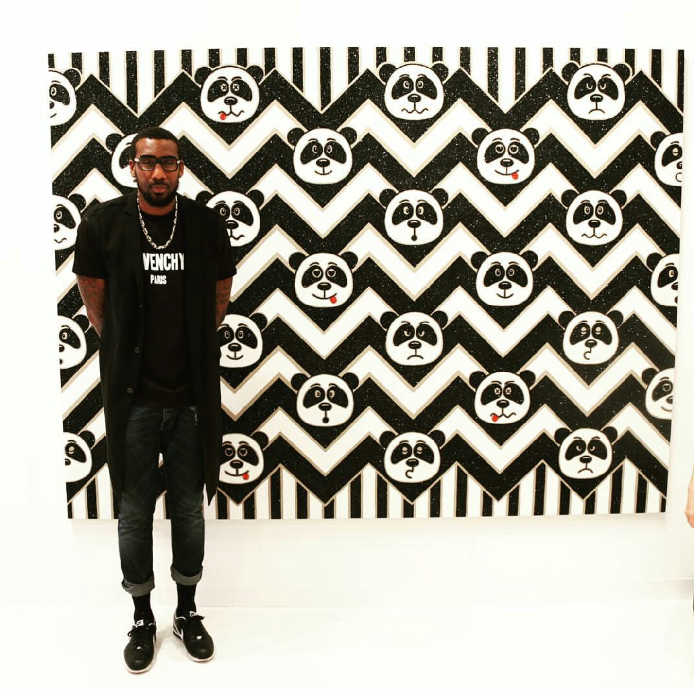 NBA Amar'e Stoudemire Is A Serious Art Collector, Attends Art Basel Miami