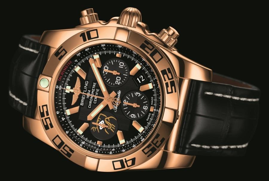 "Breitling Unveils ""Wayne Gretzky"" Limited Edition Chronomat 44"