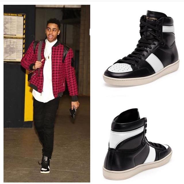 Deangelo-Russell-Saint-Laurent-sneakers