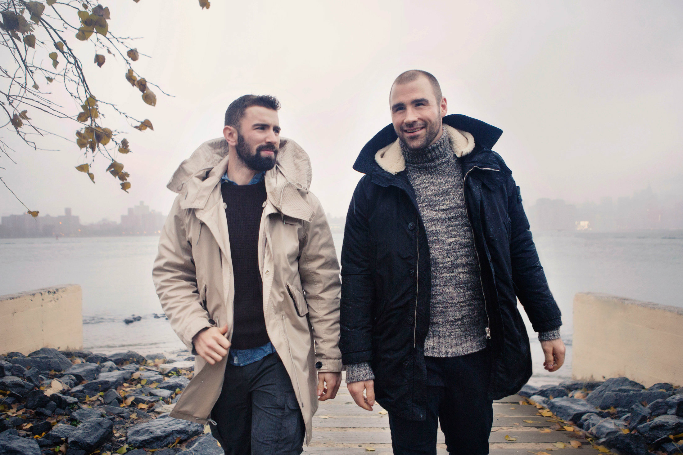 Bloomberg Style Guide road tests designer winter coats with some of the NHL's brightest stars.