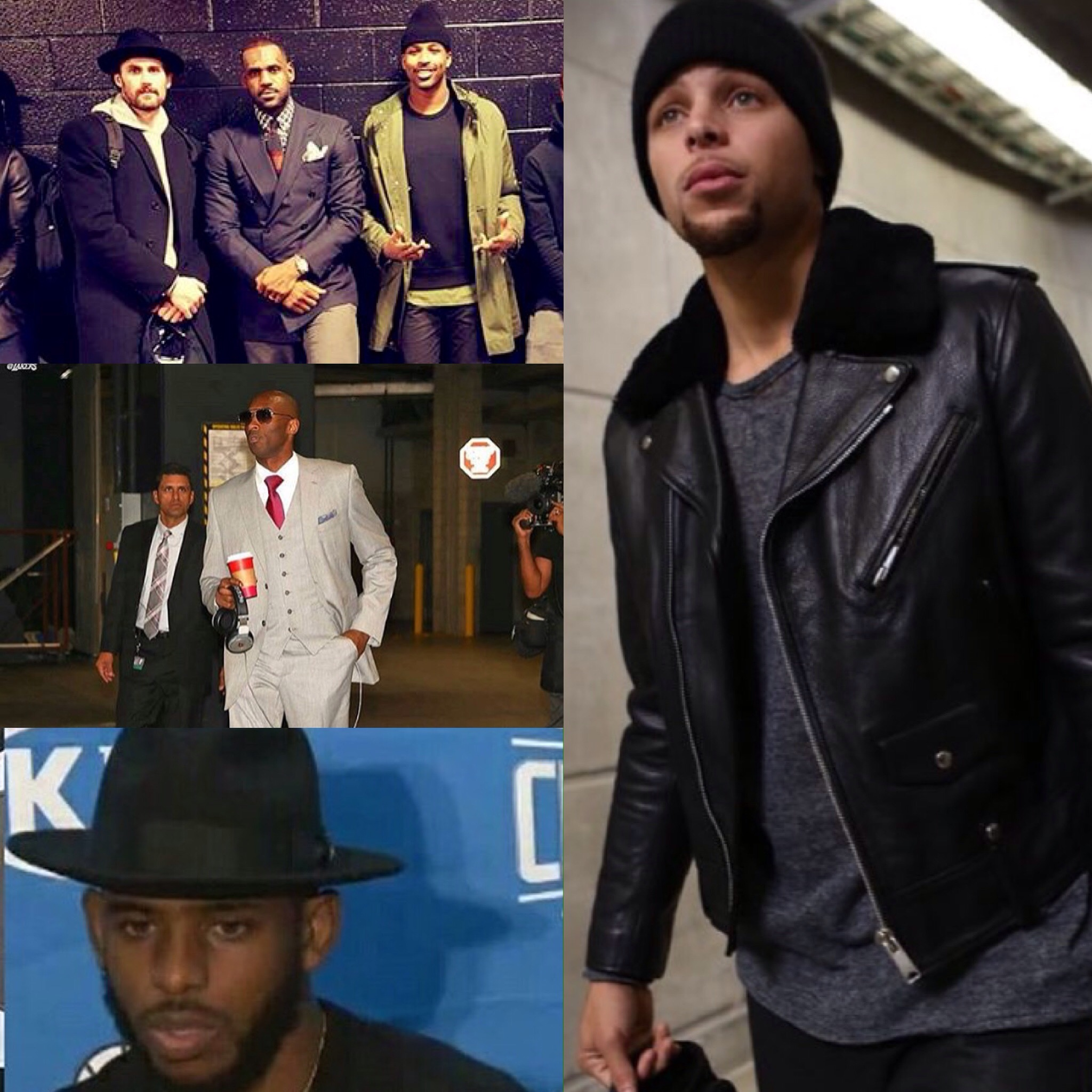 STYLE: NBA Stephen Curry, Kobe Bryant, Chris Paul And More