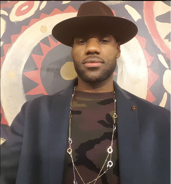 STYLE: Lebron James Wears $9,500 Cartier Love Necklace