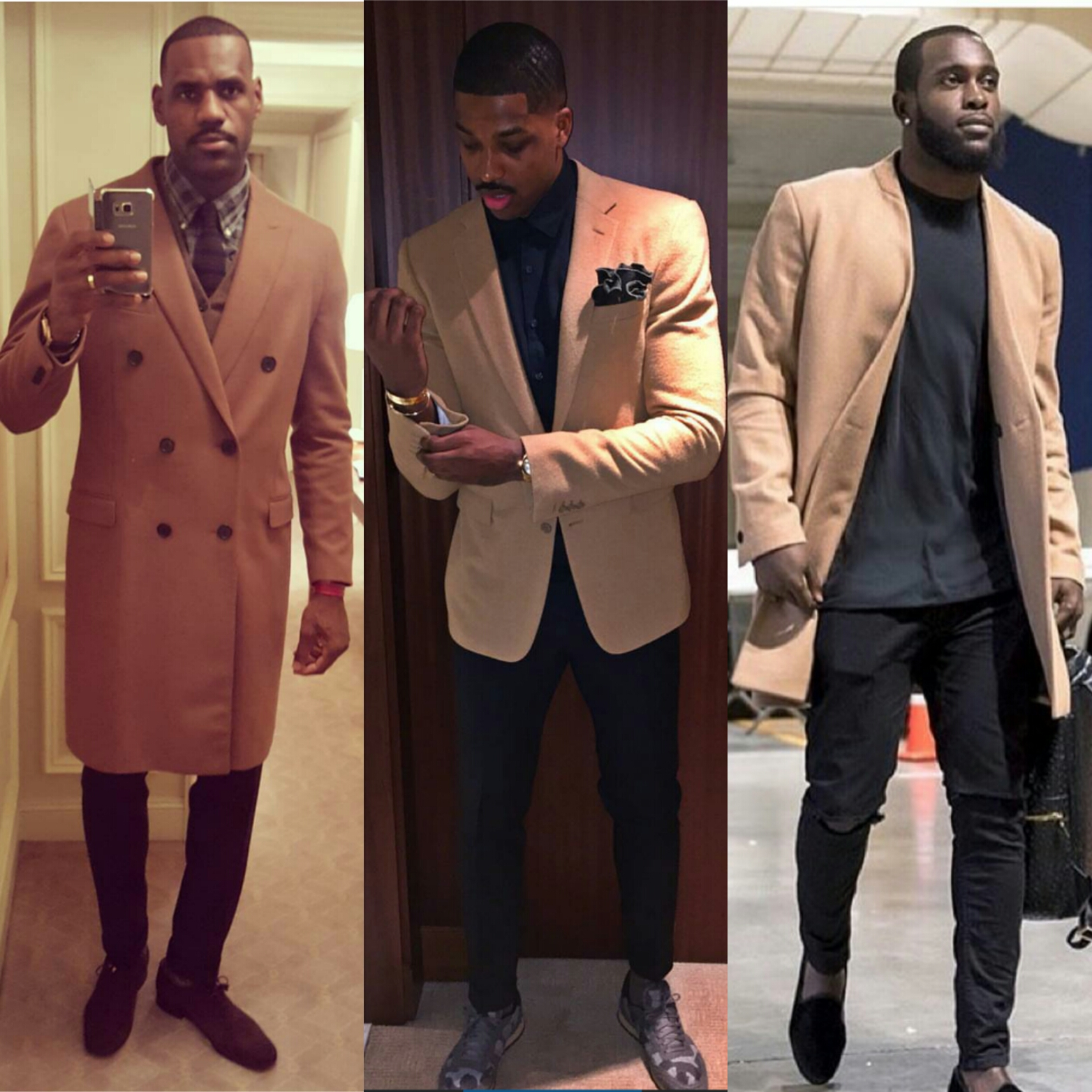 STYLE: Pro Athletes Show Us How To Wear Camel Coats