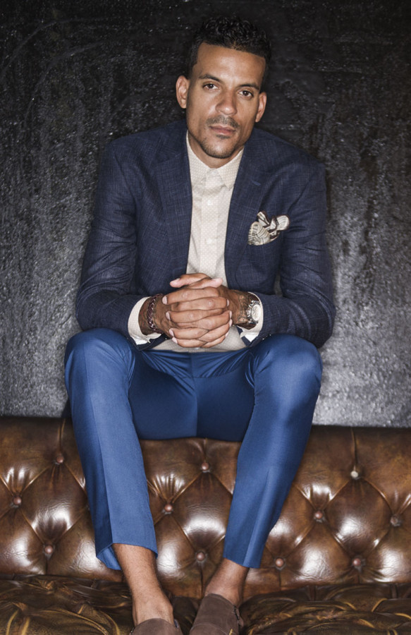 Here's NBA Forward Matt Barnes New Suit Collection By Malibu Clothes