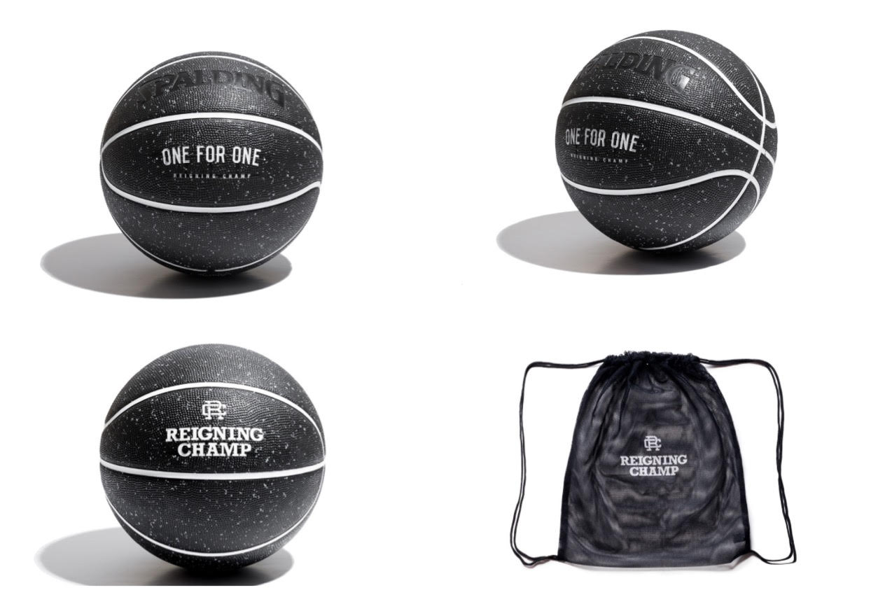 Reigning Champ and Spalding Design Basketball For a Great Cause