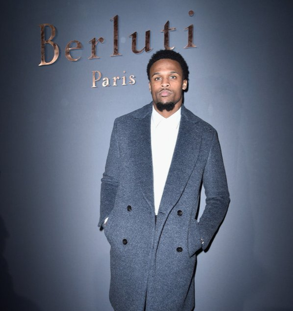 STYLE: NFL Brice Butler Attends Berluti's Paris Fashion Week F/W'16 Show.