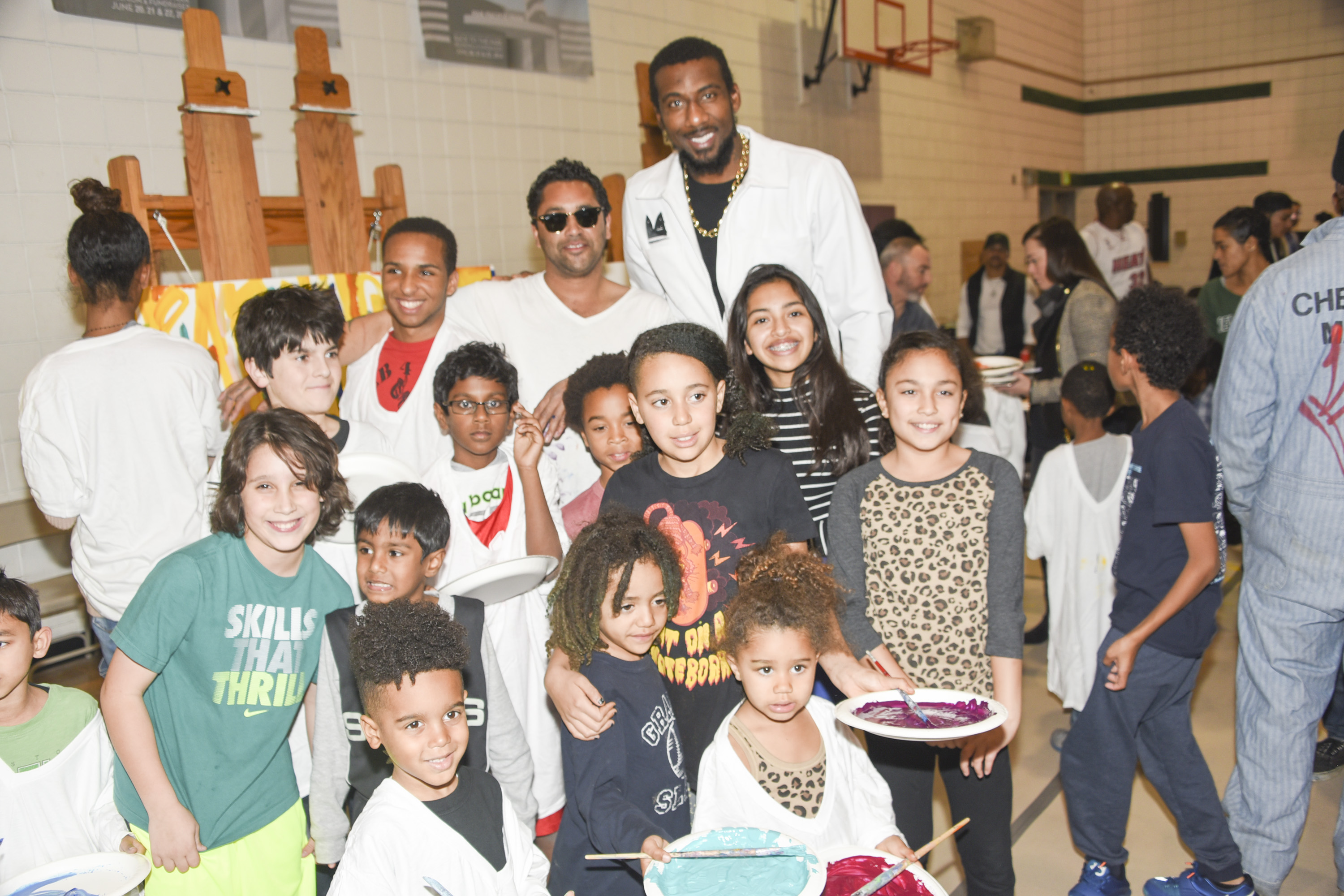 Amar'e Stoudemire Debuts 'In The Paint' Series Educates Youth About The Arts
