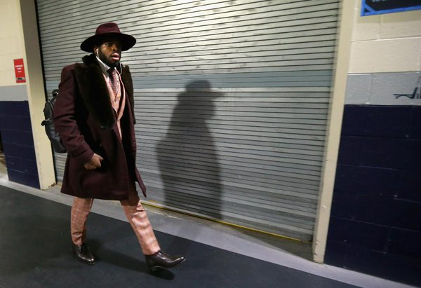 P.K. Subban's Eye-Catching NHL Winter Classic Outfit