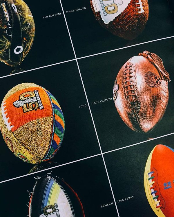 CFDA Fashion Designers Create Custom Footballs For Super Bowl 50