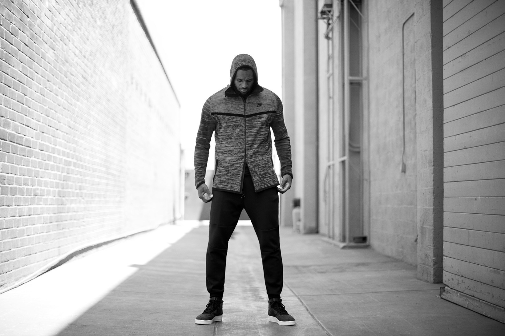 Lebron James Debuts Nike's Spring 2016 Tech Knit Collection
