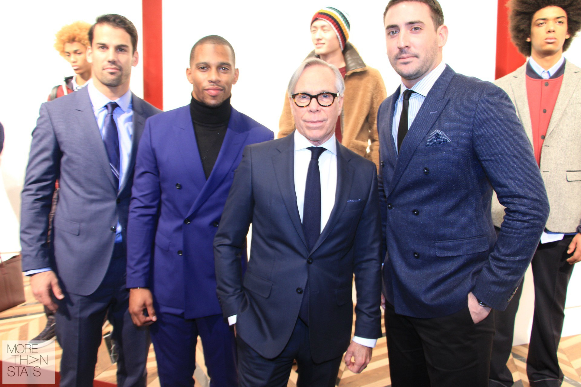 Watch: Tommy Hilfiger, Victor Cruz, Eric Decker, And Matt Harvey Talk Tommy Fall'16 Men's Fashion Week