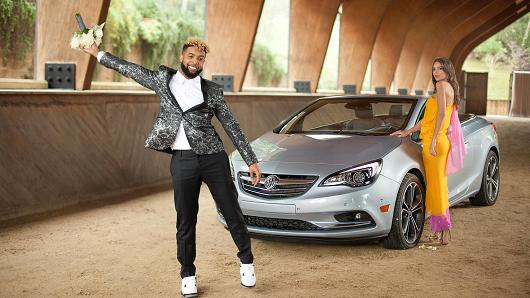 WATCH: Odell Beckham Jr Teams W/ Buick for new Ad