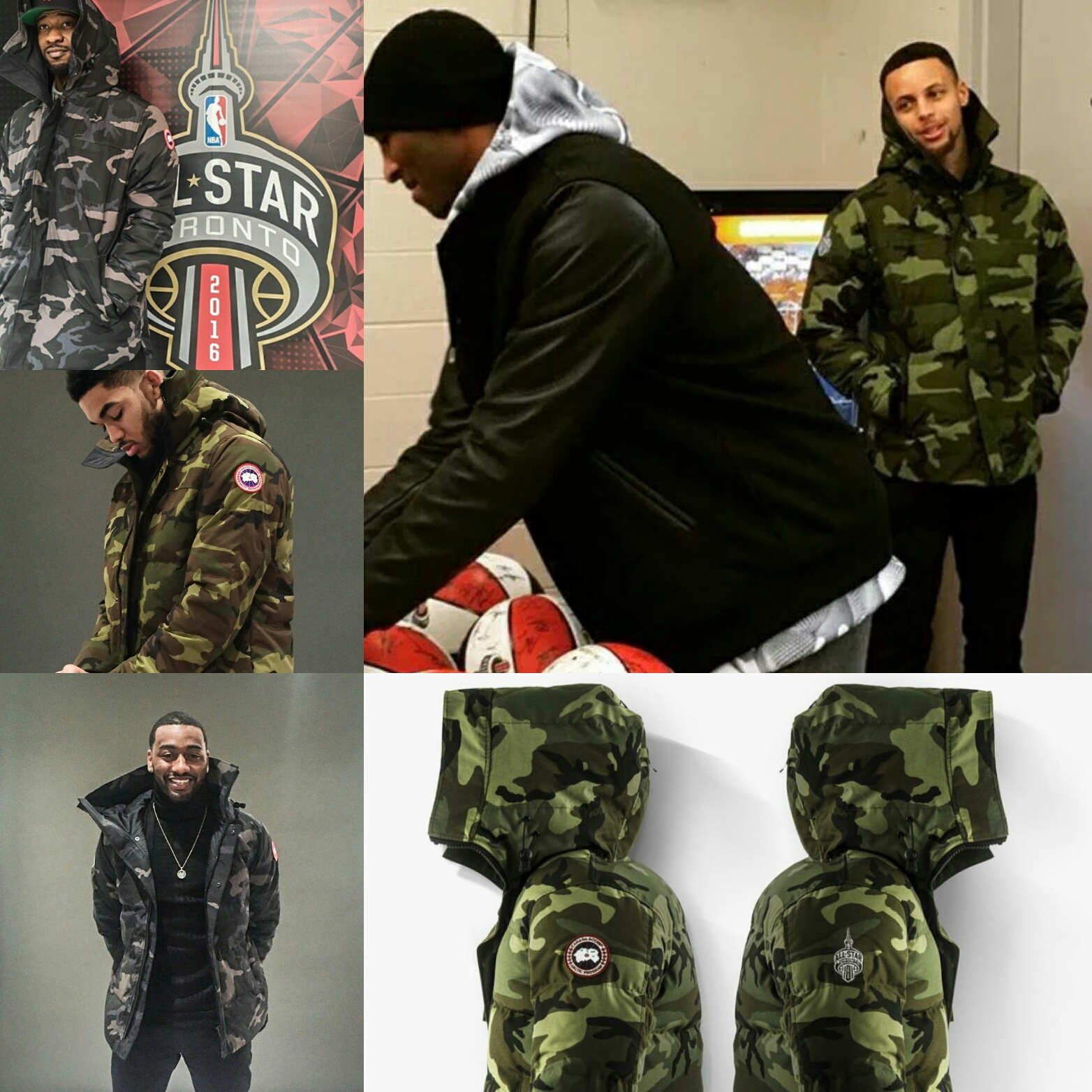Canada Goose victoria parka sale price - Canada Goose Gifted NBA All-Star 2016 Players ...
