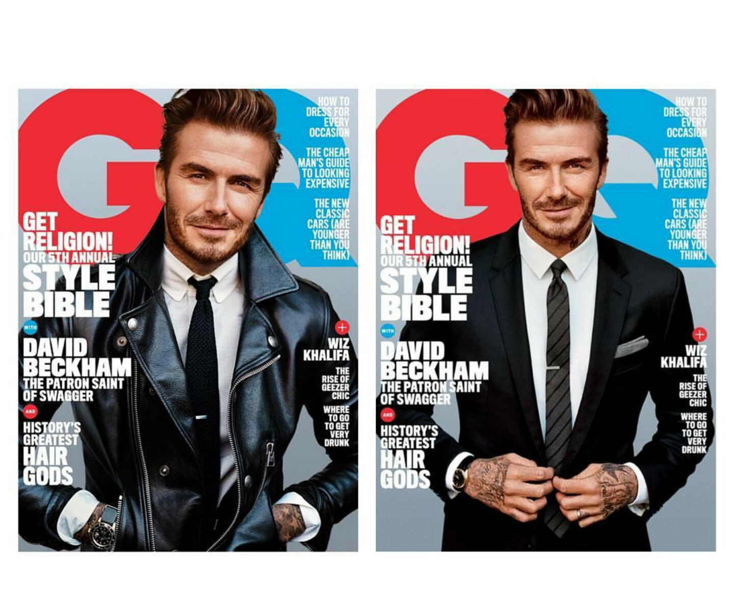 David Beckham Covers American GQ Magazine For First Time Ever