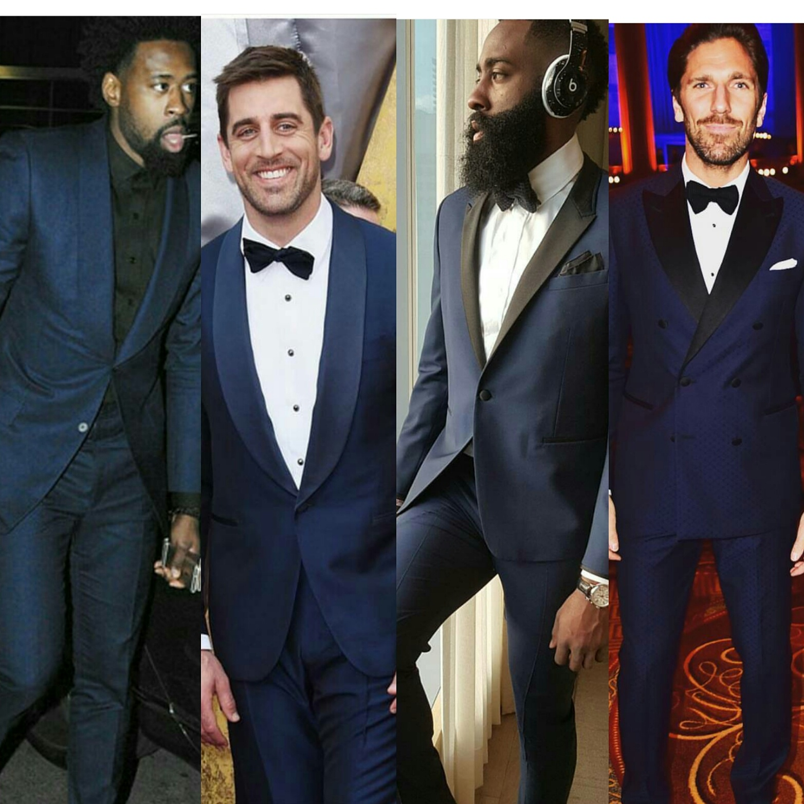 STYLE: 4 Athletes Who'll Inspire You To Wear A Navy Suit