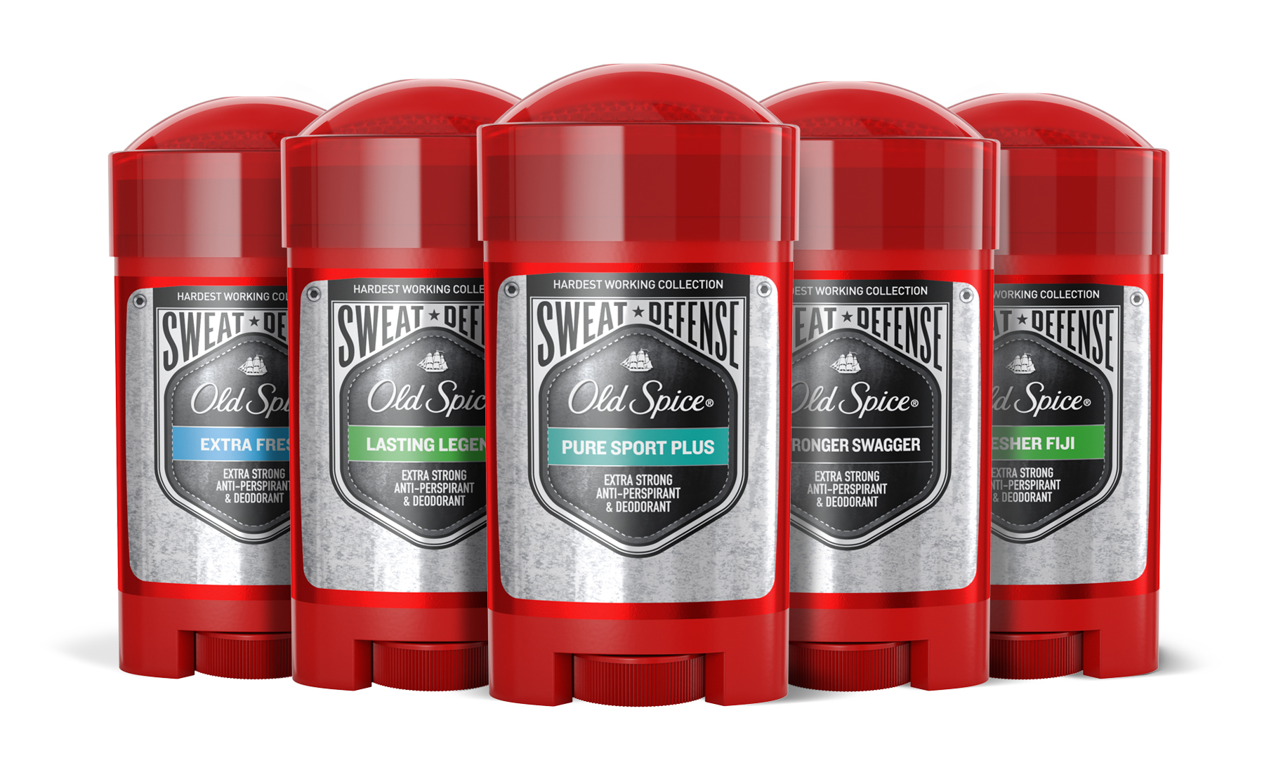 Old Spice Steps Ups Performance With New Hardest Working Collection