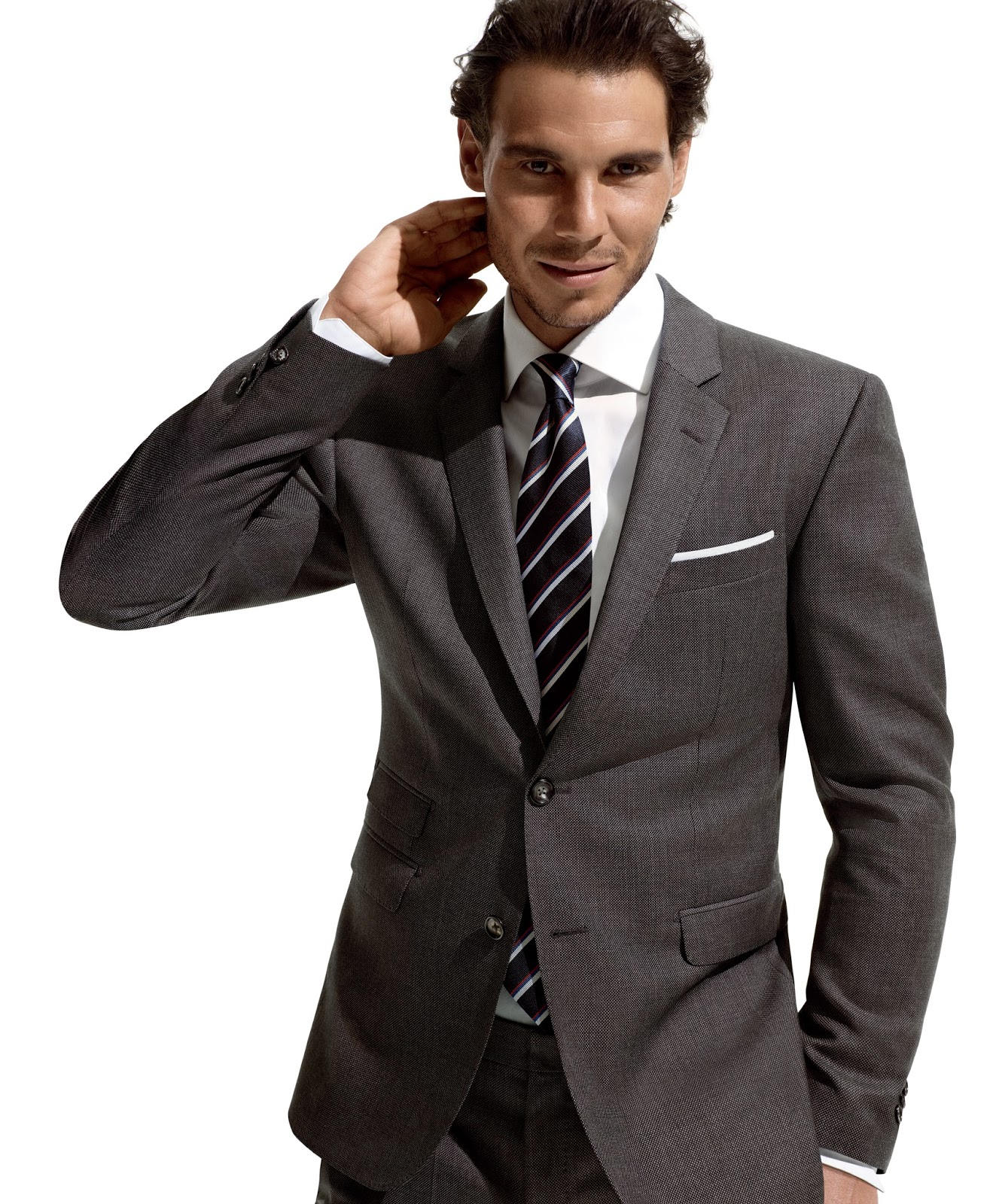 Tommy Hilfiger And Rafael Nadal Introduce TH Flex Suit Collection