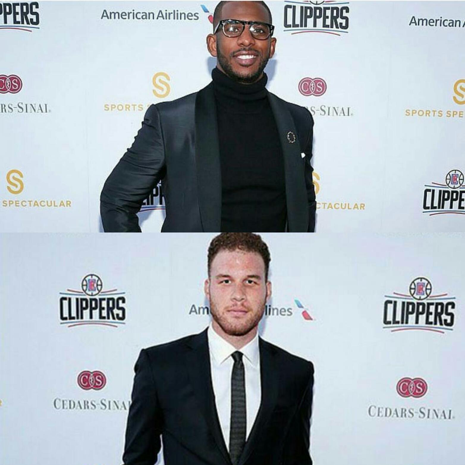 STYLE: Chris Paul, Blake Griffin Wear Ermenegildo Zegna For 31st Annual Cedars-Sinai Sports Spectacular