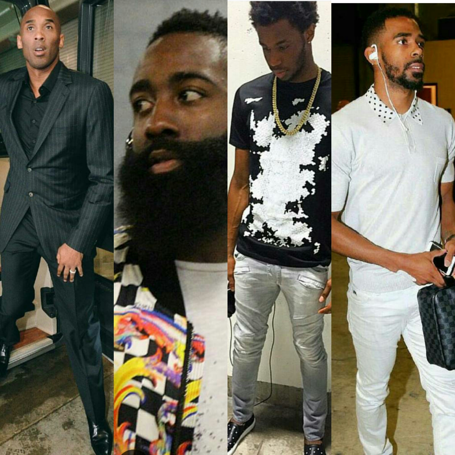 STYLE: Kobe Bryant,  James Harden, Andrew Wiggins, Mike Conley Jr, And More