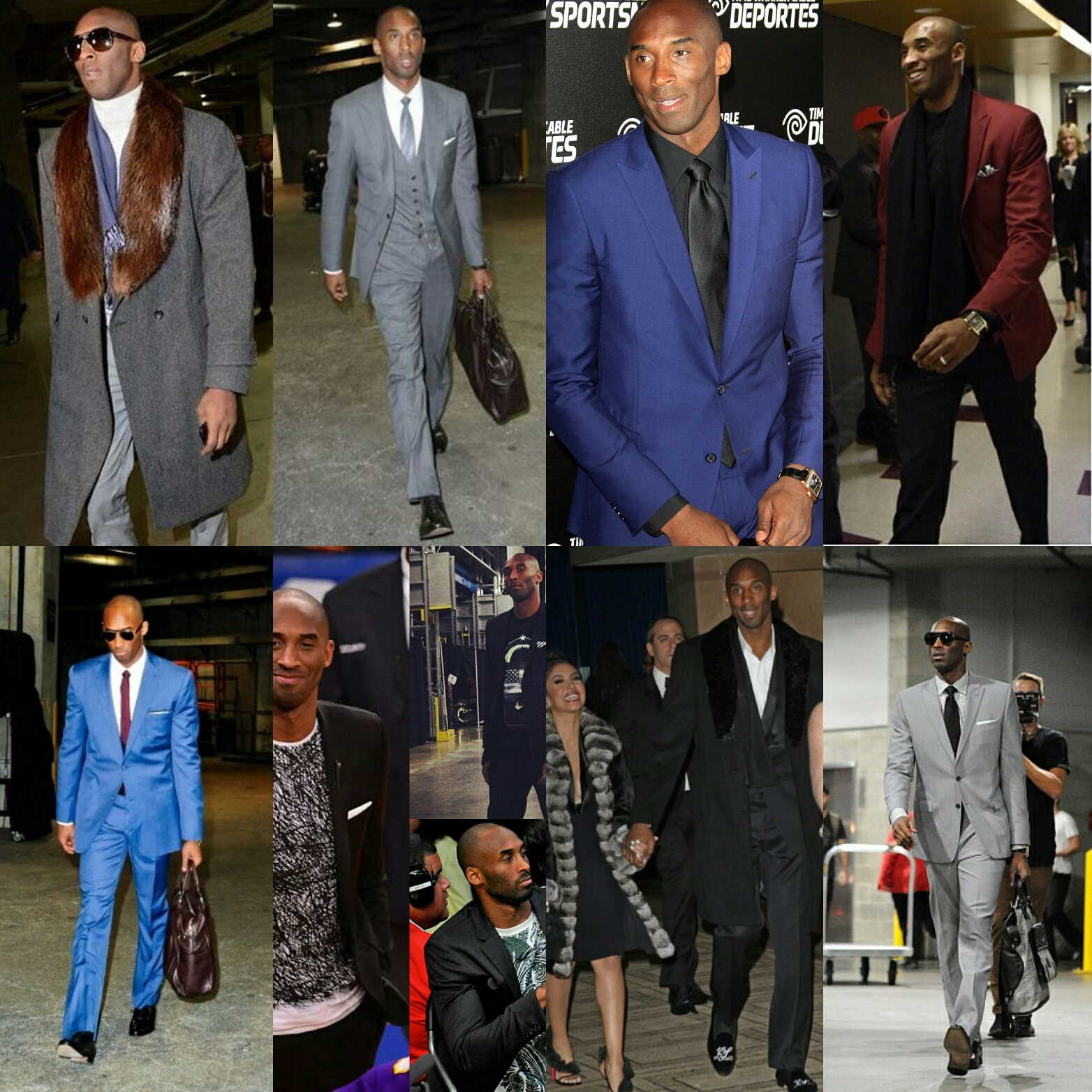 STYLE: Our 8 Favorite Kobe Bryant Fashion Moments