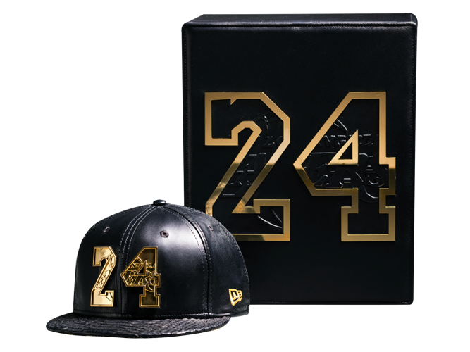 Kobe Bryant's Final Game Merch Features A $38,248 Limited Edition 18k Gold Caps