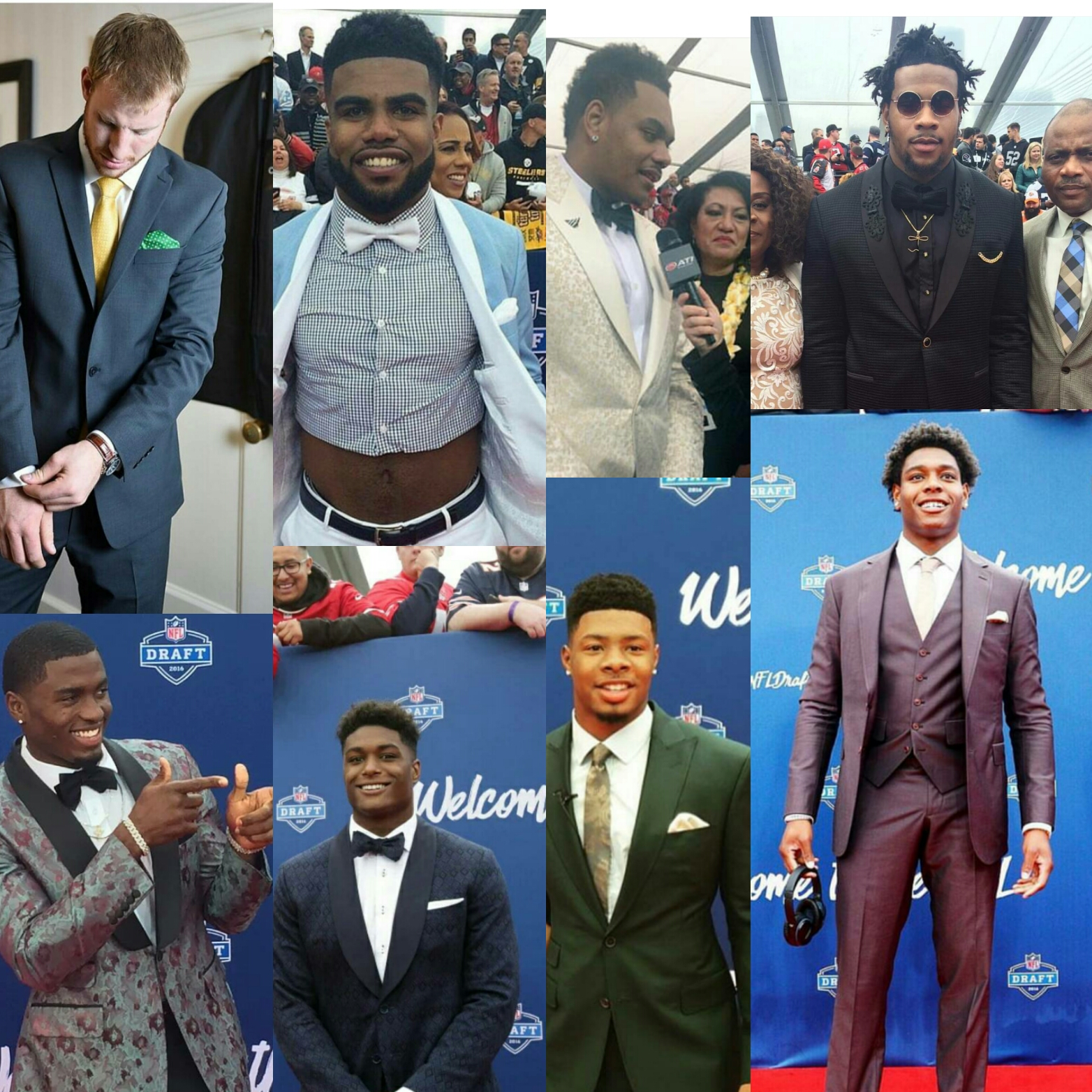 STYLE: 2016 NFL Draft Biggest Fashion Moments