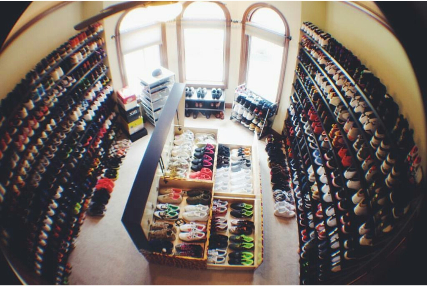 Exceptional Inside Look At J.R. Smithu0027s Amazing Sneaker Closet, Can You Guess How Many  Pairs?