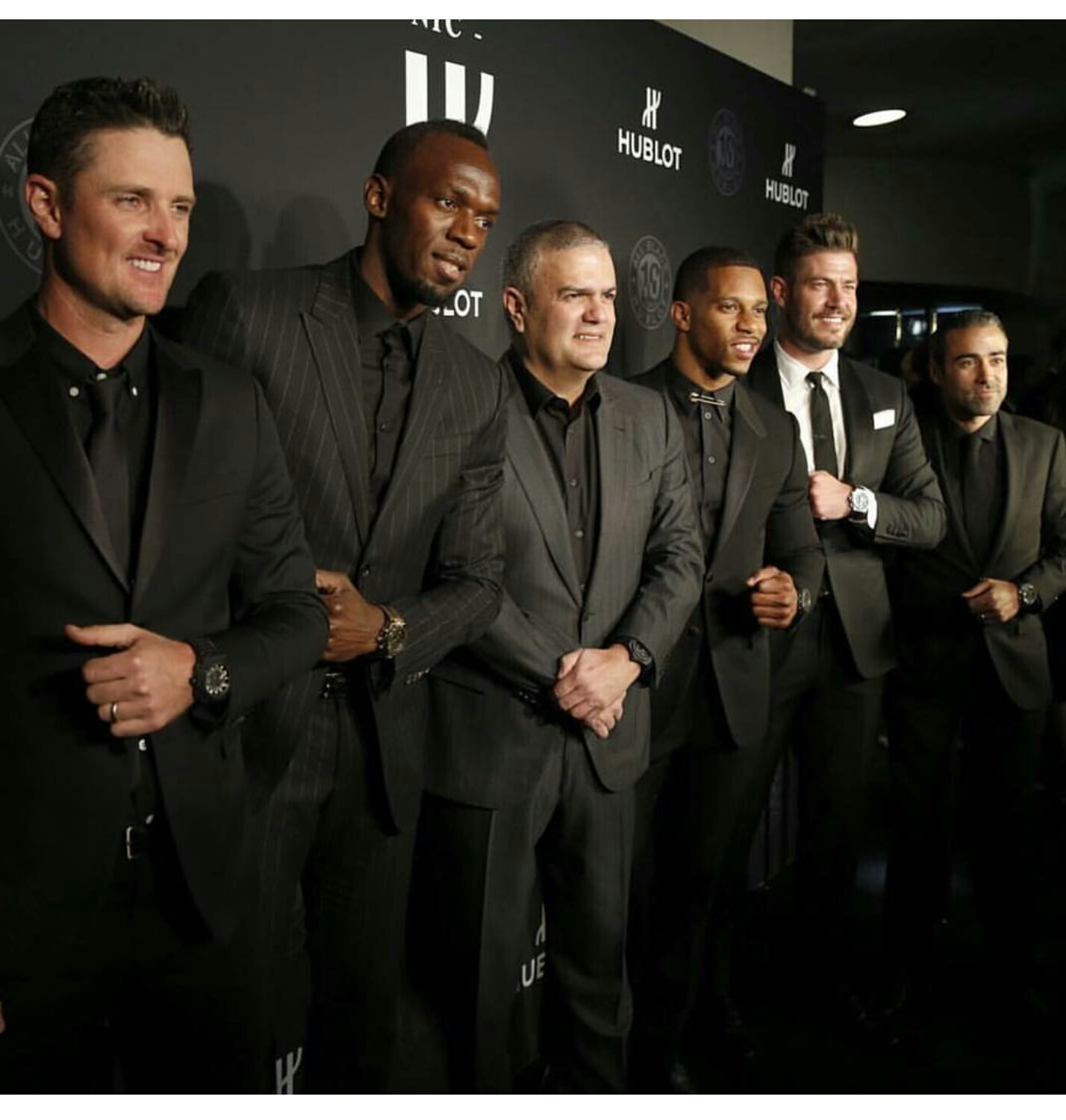 Victor Cruz, Usain Bolt Helps Hublot Celebrate New NYC Fifth Avenue Store and 10 Year Anniversary of All Black Collection