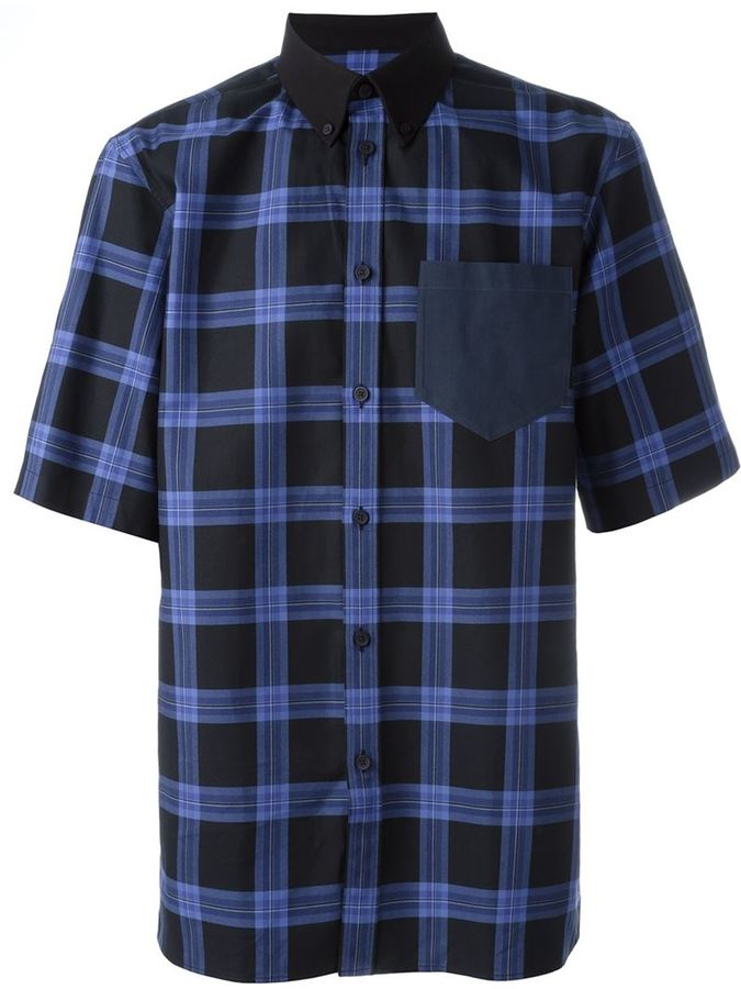 Givenchy-plaid-shirt