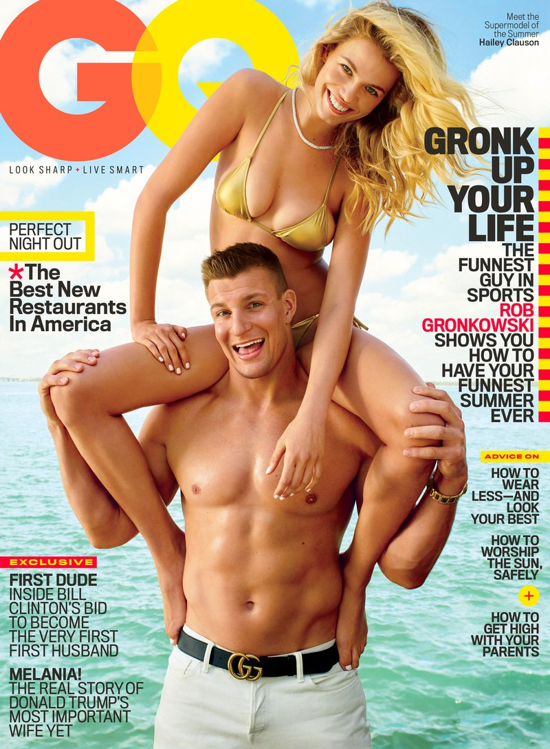 NFL Rob Gronkowski Covers GQ Magazine June 2016, Talks Partying, Going Shirtless, And More