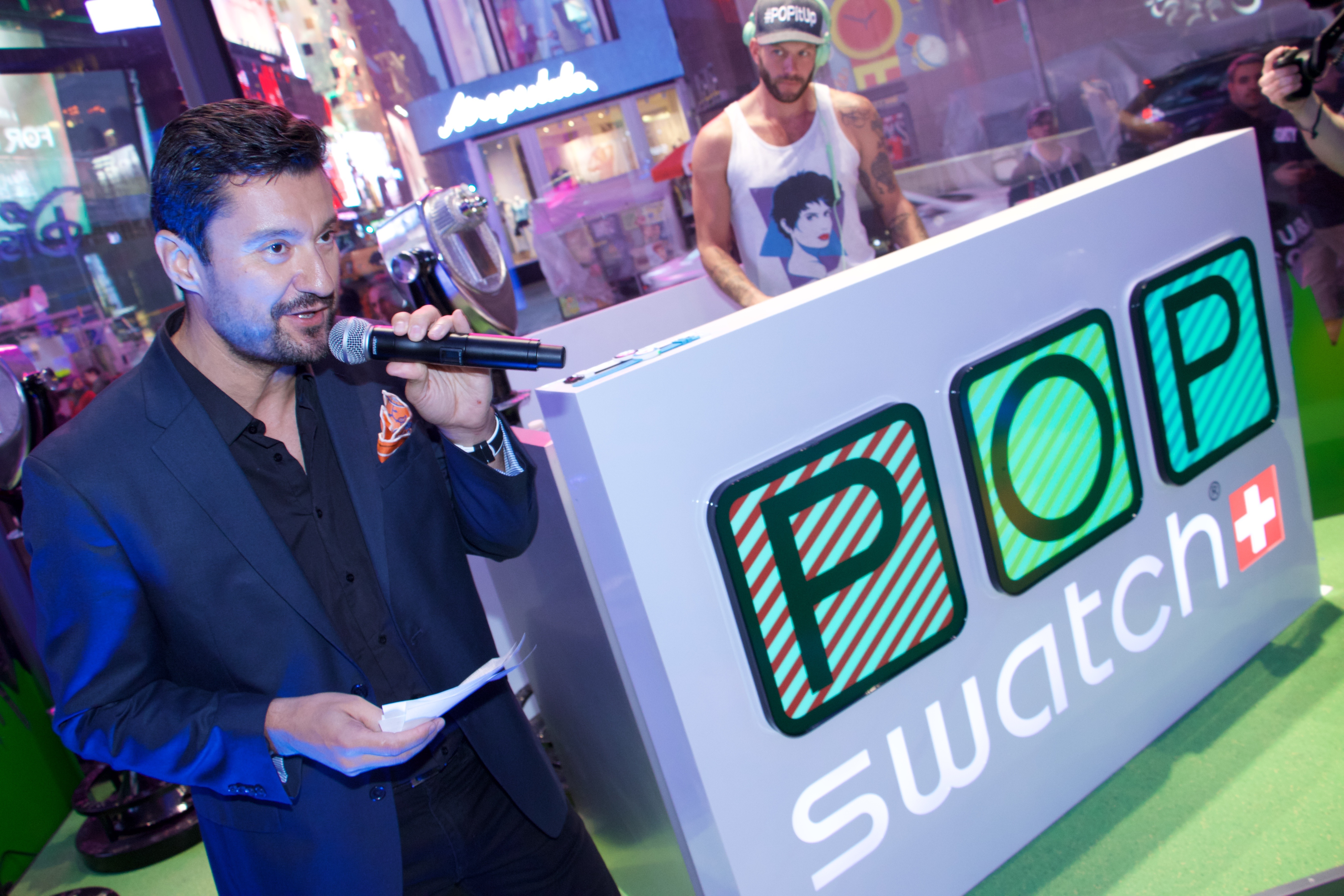 SWATCH Unveils New Times Square NYC Store
