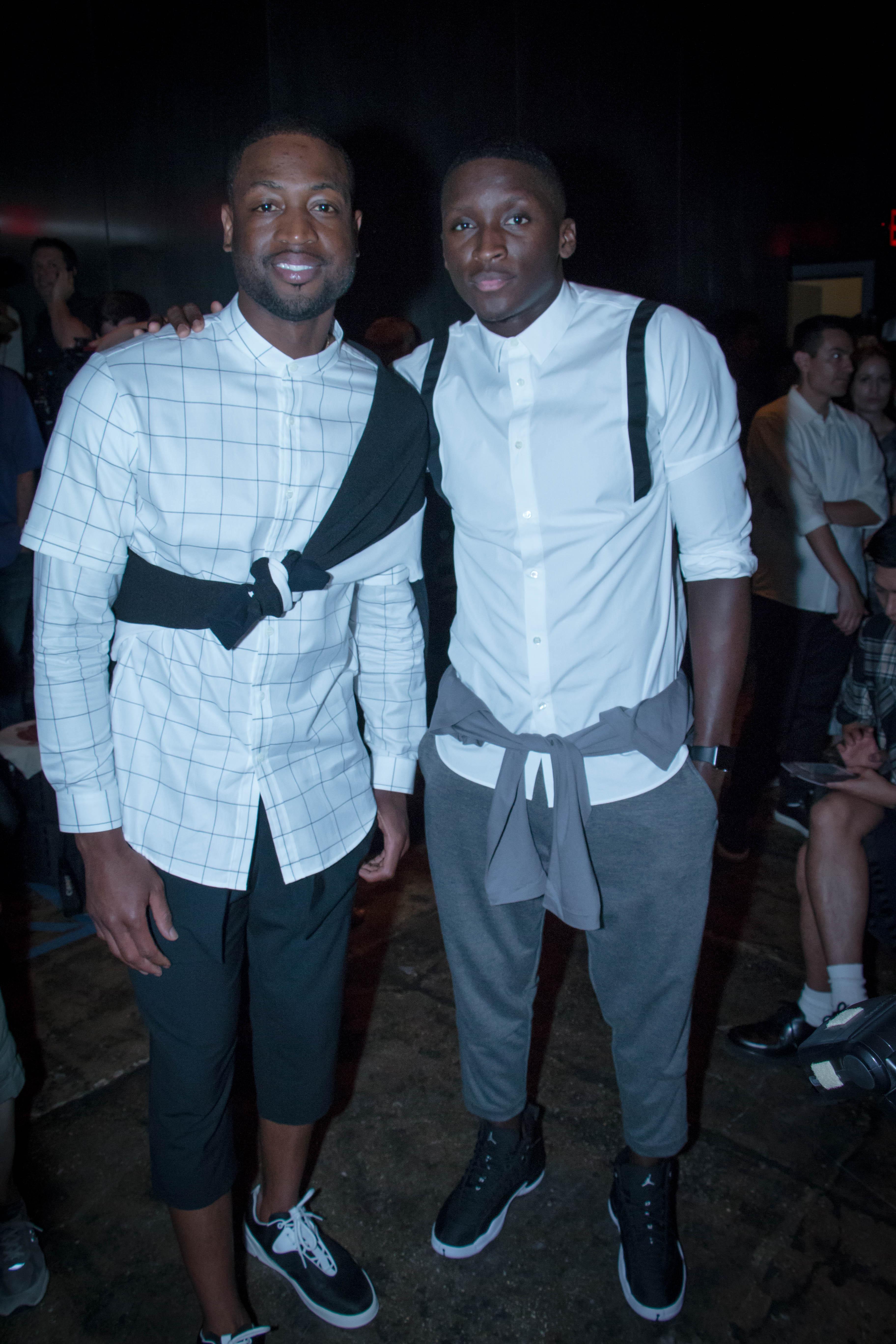 Dwyane-Wade-Victor-Cruz-Victor-Oladipo-Public-School-Spring-17-fashion-show-10